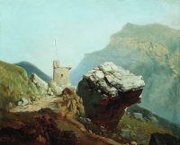 Крепость в горах. 1880-е