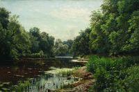 Заросший пруд. 1893