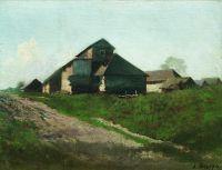 Сельский пейзаж. 1870-е