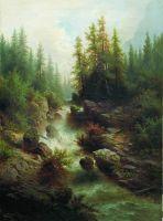 Горный поток. 1880-е