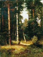 Тропинка в лесу. 1880-е