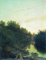 Тихая заводь. 1879