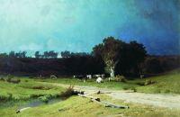 Перед грозой. 1884