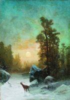 Лунная ночь. Тишина. 1875