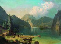 Горное озеро. 1861