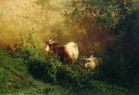 Пейзаж с козами. 1868