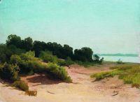 Прибрежный пейзаж. 1883