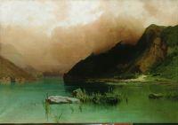 Озеро Эзель-Ам в Дагестане. 1890