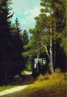 Лесной пейзаж. 1881