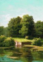 Заросший пруд. 1883