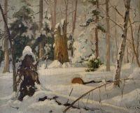 Зимний лес. 1899