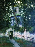 Церковная ограда. 1905