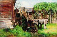 Водяная мельница. 1883