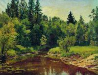 Лесная река. 1909