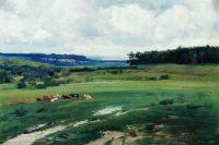 Пейзаж со стадом. 1892
