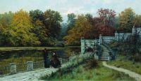 Парк в Лазенках. 1886
