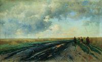 Дорога после дождя. 1887
