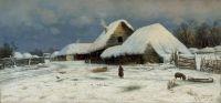 Зима. Деревня. 1881