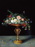 Ваза с цветами (ок.1620) (Пасадена, Музей Нортона Симона)