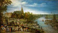 Деревенская ярмарка (1614) (Вена, Музей истории искусств)