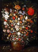 Натюрморт с цветами (1607) (Вена, Музей истрии искусств)