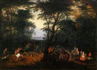 Оленья охота (Турин, Галерея Сабауда)