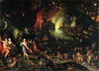 Орфей в аду (1594) (Флоренция, Палаццо Питти, Галерея Палатина)