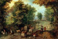 Пейзаж с бродом (1607) (Флоренция, Уффици)