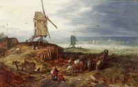 Пейзаж с мельницей (1607) (Рим, Галерея Спада)