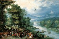 Пейзаж с Товией и ангелом (1598)