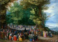 Проповедь Иоанна Крестителя (1598) (Лос-Анжелес, музей Пола Гетти)