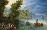 Речной пейзаж (1607) (Вашингтон, Нац. галерея)