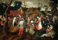 Свадебный танец (ок.1600) ( Турин, Галерея Сабауда)