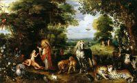 Сотворение Евы (1613-1625) ( Поммерсфельден, Дворец Вейссенштейн)