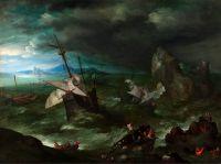 Шторм (ок.1596) (Лондон, Нац. галерея)