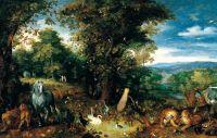 Эдемский сад (1610-1612) (Мадрид, Музей Тиссен-Борнемиса)