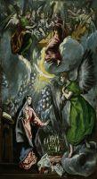 Благовещение (1596-1600) (315 x 174) (Мадрид, Прадо)
