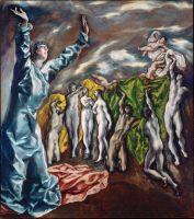 Видение св.Иоанна на Патмосе (1608-1614) (Нью-Йорк, муз.Метрополитен)