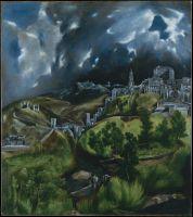 Гроза в Толедо (1599-1600) (Нью-Йорк, Музей Метрополитен)_