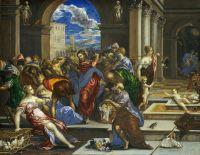 Изгнание торгующих из храма (1570) (Вашингтон, Нац.галерея)_