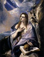 Кающаяся Св.Мария Магдалина (ок.1580) (Будапешт. Музей изобр. искусств)