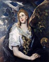 Кающаяся св.Мария Магдалина (ок.1580) (Канзас-Сити, Музей Нельсона Аткинса)