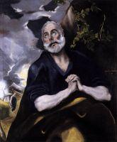 Кающийся св.Пётр (ок.1585) (Великобритания, Музей Bowes)