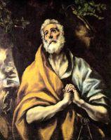 Кающийся св.Пётр (ок.1600) (Вашингтон, The Phillips Collection)