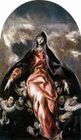 Мадонна милосердия (ок.1604) (Испания, Иллескас, Больница де ла Каридад)