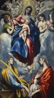 Мадонна с младенцем, св.Мартиной и св.Агнессой (1597-1600) (Вашингтон, Национальная галерея)