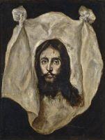 Нерукотворный образ (1590-1595) (71 x 54) (Мадрид, Прадо)