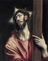 Несение креста  (ок.1587-1596) (66 х 52.6) (Мадрид, Музей Тиссен-Борнемис)