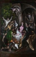 Поклонение пастухов (ок.1610) (Нью-Йорк, музей Метрополитен)