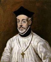 Портрет Диего  де Коваррубиас-и-Лейва (ок.1601) (Толедо, Museo del Greco)